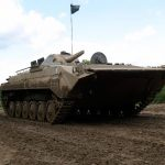 Armoured Personnel Carrier BMP in Berlin, Germany
