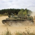 East German Army Tank at Berlin Tank Riding Area